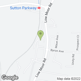 Map of Sapco UK in Kirkby-in-Ashfield, Nottingham, nottinghamshire