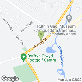 Map of Stuart G Roberts in Ruthin, clwyd