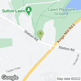 Map of Beauty Station Ltd in Sutton-in-Ashfield, nottinghamshire