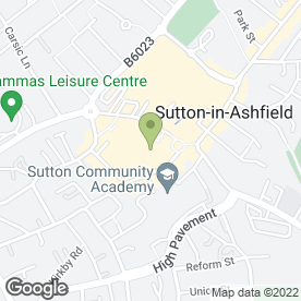 Map of H.Samuel in Sutton-In-Ashfield, nottinghamshire