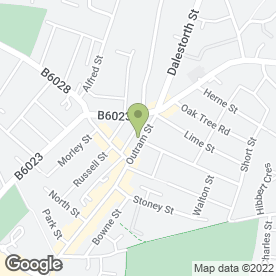 Map of CREATIVE CUTTING HAIR & BEAUTY STUDIO in Sutton-In-Ashfield, nottinghamshire