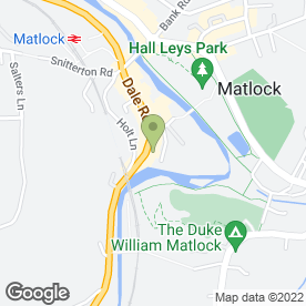 Map of W Evans & Son (Jewellers) Ltd in Matlock, derbyshire