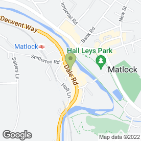 Map of Viva Restaurant in Matlock, derbyshire