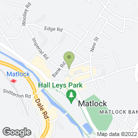Map of Limegrove Dental Care in Matlock, derbyshire