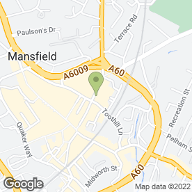 Map of The Cheeky Monkey in Mansfield