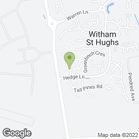 Map of CK Carpet Cleaning Ltd in Witham St. Hughs, Lincoln, lincolnshire