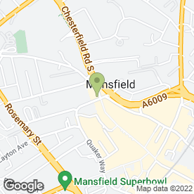 Map of Wild Orchid in Mansfield, nottinghamshire