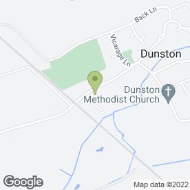 Map of Hullabaloo Day Nursery in Dunston, Lincoln, lincolnshire