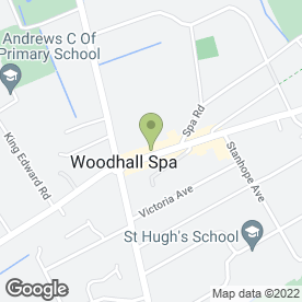 Map of The Clocktower Jeweller in Woodhall Spa, lincolnshire