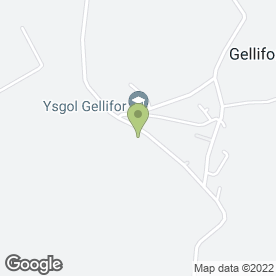 Map of Adrian Jones Associates in Gellifor, Ruthin, clwyd