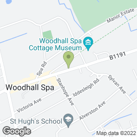 Map of Golden Dragon in Woodhall Spa, lincolnshire