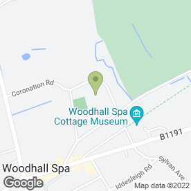 Map of Kinema-in-the-Woods in Woodhall Spa, lincolnshire