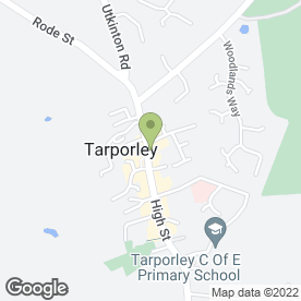 Map of Soul Hair in Tarporley, cheshire