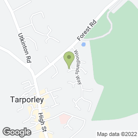 Map of Aries Travel Ltd in Tarporley, cheshire
