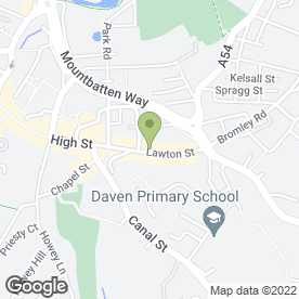 Map of Browns Furniture in Congleton, cheshire