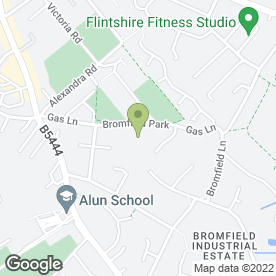 Map of Howard Basford Ltd in Mold, clwyd