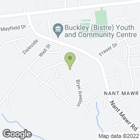 Map of Ryan Gas Heating Services in Buckley, clwyd