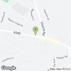 Map of Brunswick Veterinary Surgery in Buckley, clwyd