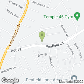 Map of Sherwood School of Motoring in Mansfield Woodhouse, Mansfield, nottinghamshire
