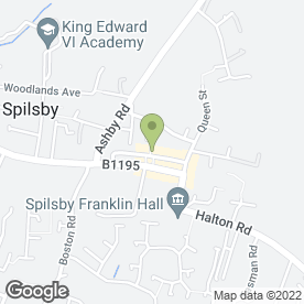 Map of G & C Flooring & Interiors in Spilsby, lincolnshire