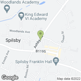 Map of SDB Construction in Spilsby, lincolnshire