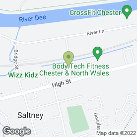 Map of Full Circle Martial Arts Academy in Saltney, Chester, cheshire