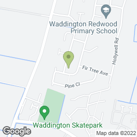 Map of JA Cox Heating Ltd in Waddington, Lincoln, lincolnshire