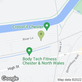 Map of Saltney Tyre Service in Saltney, Chester, cheshire