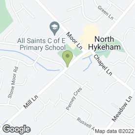 Map of South Lincoln Physiotherapy & Sports Injuries Clinic in North Hykeham, Lincoln, lincolnshire
