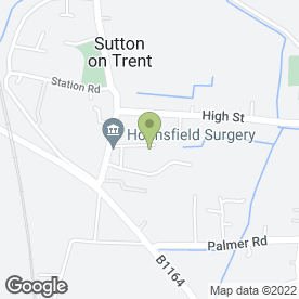 Map of Hounsfield Surgery in Sutton-on-Trent, Newark, nottinghamshire