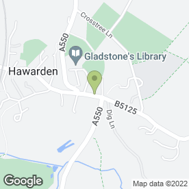 Map of Llewellyn-Shaw in Hawarden, Deeside, clwyd