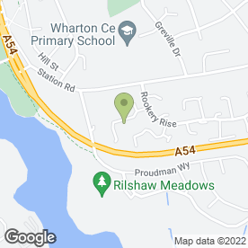 Map of M6 School of Motoring in Winsford, cheshire