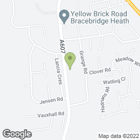 Map of Munromedia (UK) Ltd in Bracebridge Heath, Lincoln, lincolnshire