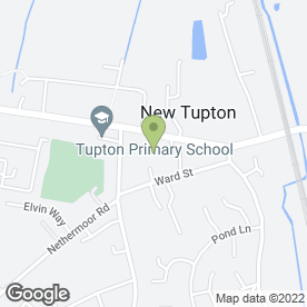 Map of PETER SMITH SINGING TEACHER in New Tupton, Chesterfield, derbyshire