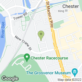 Map of Linenhall Chambers in Chester, cheshire