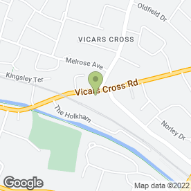 Map of National Tyres and Autocare in Vicars Cross, Chester, cheshire