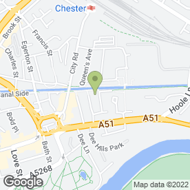 Map of Anchor Security Services Ltd in Chester, cheshire
