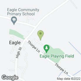 Map of Dagmar Couriers in Eagle, Lincoln, lincolnshire