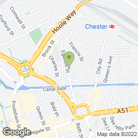 Map of Little Friends Day Nursery & Learning Centre in Chester, cheshire