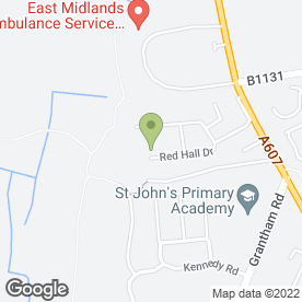 Map of Elite Systems (East Midlands) Ltd in Bracebridge Heath, Lincoln, lincolnshire