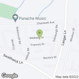Map of The Surgery in Wingerworth, Chesterfield, derbyshire