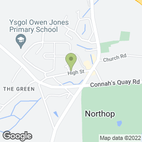 Map of LITTLE PEOPLES DAY NURSERY in Northop, Mold, clwyd