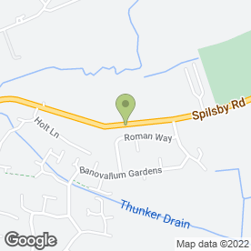 Map of Paul Lovely Services Ltd in Horncastle, lincolnshire