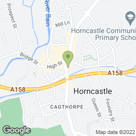 Map of Myers Cafe Tea Room in Horncastle, lincolnshire