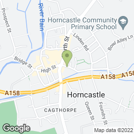 Map of Horncastle Music Shop in Horncastle, lincolnshire