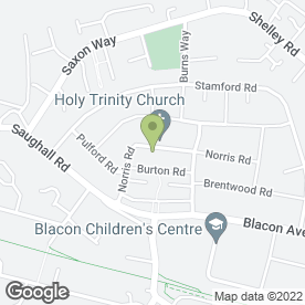 Map of Blacon Contraception & Sexual Health Clinic in Blacon, Chester, cheshire