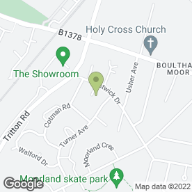Map of UK Electrical Testing Ltd in Lincoln, lincolnshire