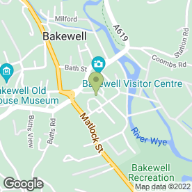 Map of 10/10 Cupcake Co in Bakewell, derbyshire