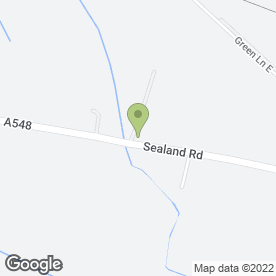 Map of COOPERS DAIRIES in Sealand, Deeside, clwyd