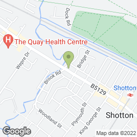 Map of Shotton Balti Raj in Shotton, Deeside, clwyd